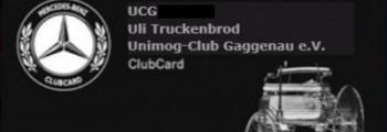 Mitglied im Unimog-Club Gaggenau e.V.