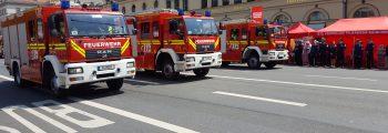 Off topic:  firetage München – Größte Feuerwehrparade weltweit